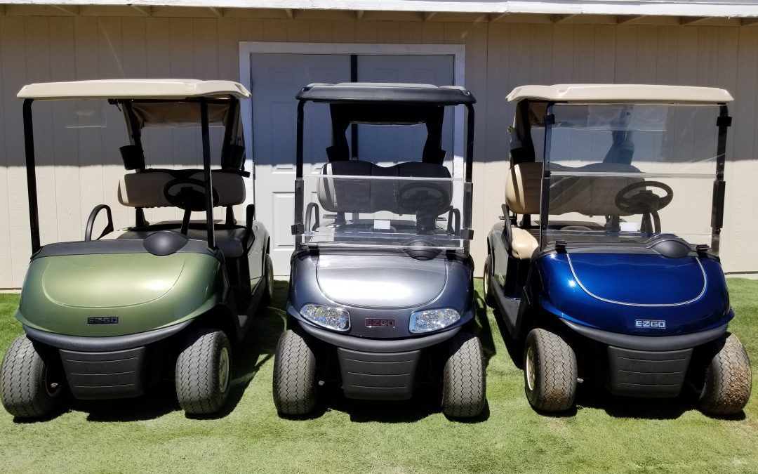 2018 EZGO RXV Elite Lithium Dealer Demos