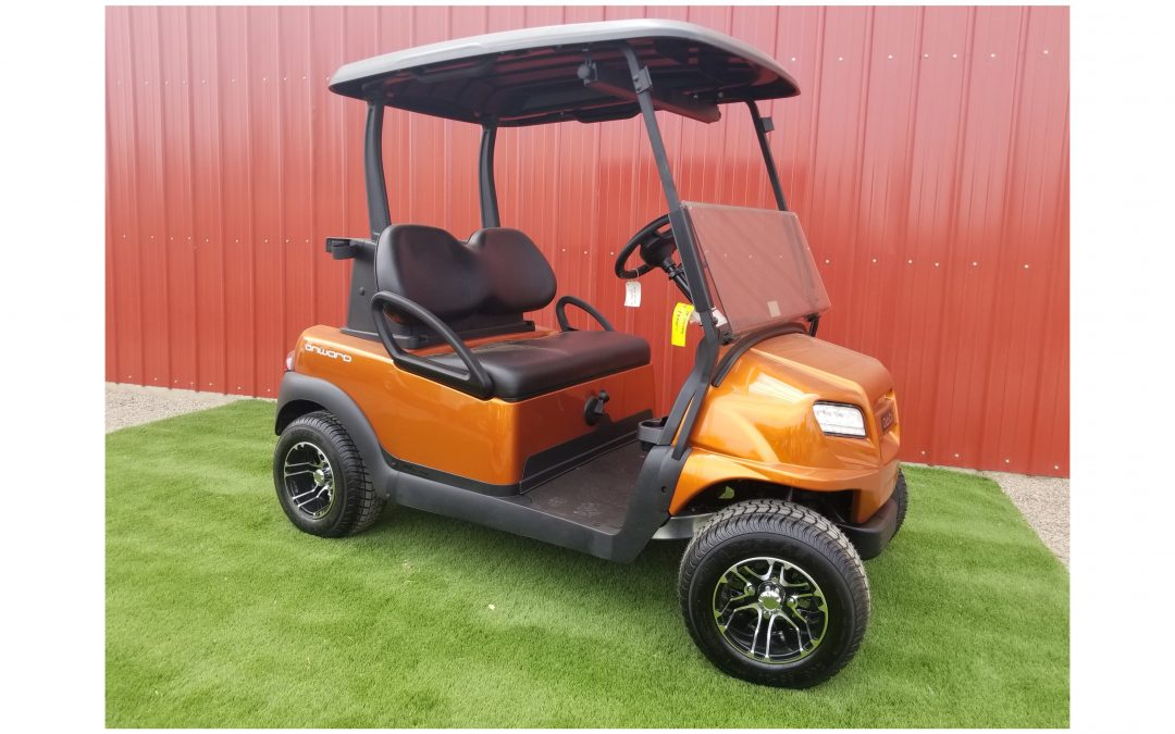 2018 Club Car Onward Sunburst Orange